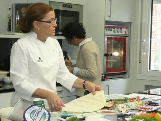 Imagen de clase de cocina Fina Ferrando