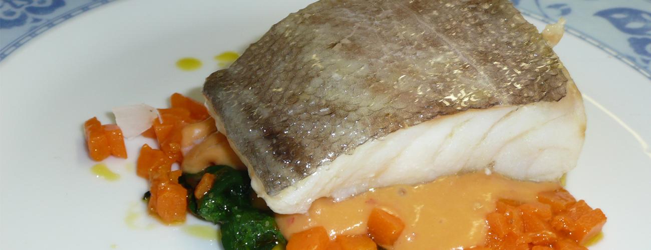 Imagen plato pescado
