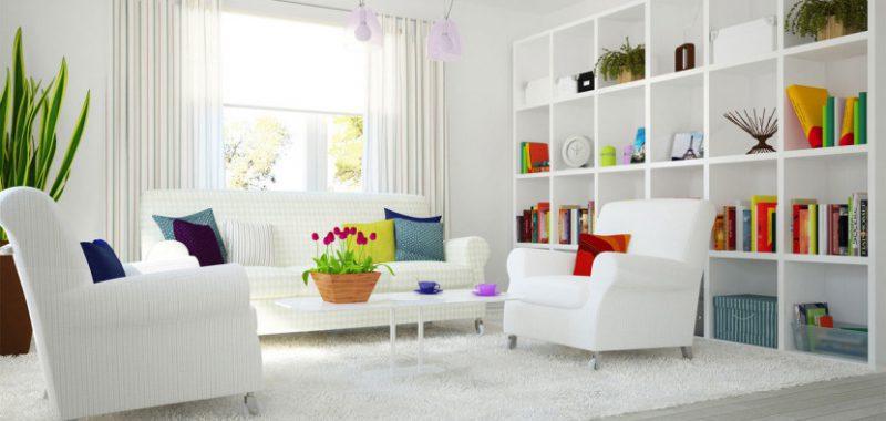 Imagen salón limpio y ordenado