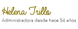 Firma Helena Trillo